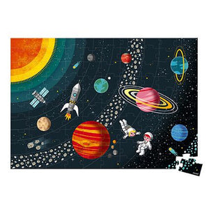 Solar System - 100 piece educational puzzle by Janod