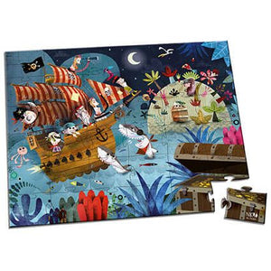 Treasure Hunt - 36 piece puzzle by Janod