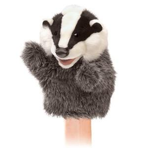 Little Badger Folkmanis Little Puppet