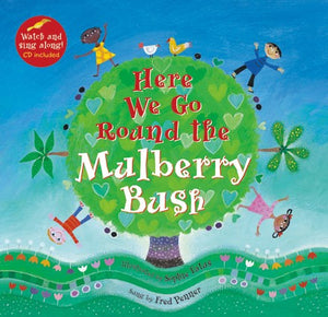 Here We Go Round the Mulberry Bush - Paperback with CD
