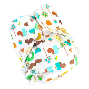 Nutty by Nature (print) AMP One Size Duo Pocket Cover
