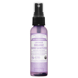 Dr. Bronner's Magic All-One Organic Hand Sanitizing Spray - Lavender