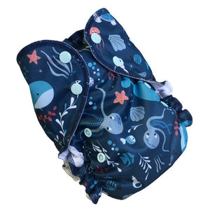 Deep Sea (print) AMP One Size Duo Pocket Cover