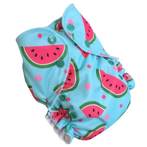 Watermelon (print) AMP One Size Duo Pocket Cover