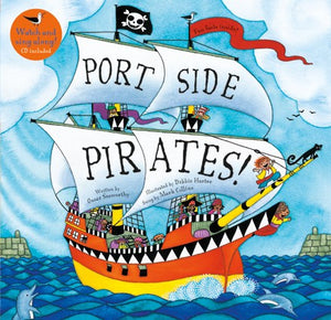 Port Side Pirates paperback with CD