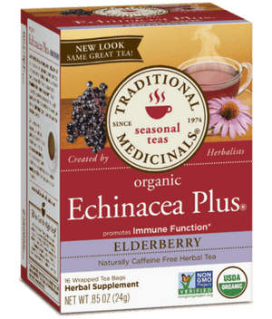 Traditional Medicinals Echinacea Plus Elderberry