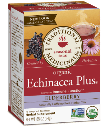 Traditional Medicinals Echinacea Plus - Elderberry