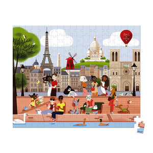 Paris - 200 piece puzzle by Janod
