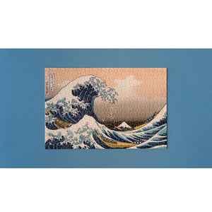 The Wave by Hokusai Micropuzzle - 600 pieces