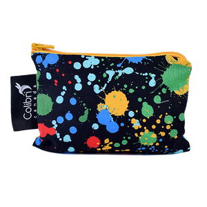 Splatter Small Reusable Snack Bag by Colibri