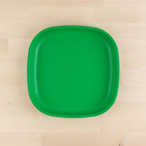 Kelly Green Re-Play Large Flat Plate