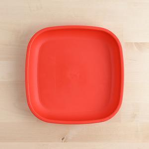 Red Re-Play Large Flat Plate