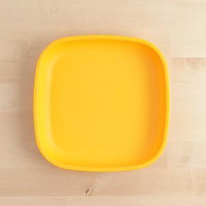 Sunny Yellow Re-Play Large Flat Plate