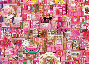 Cobble Hill - Pink - 1000 Piece Puzzle