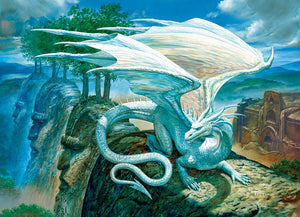 Cobble Hill - White Dragon - 500 Piece Puzzle