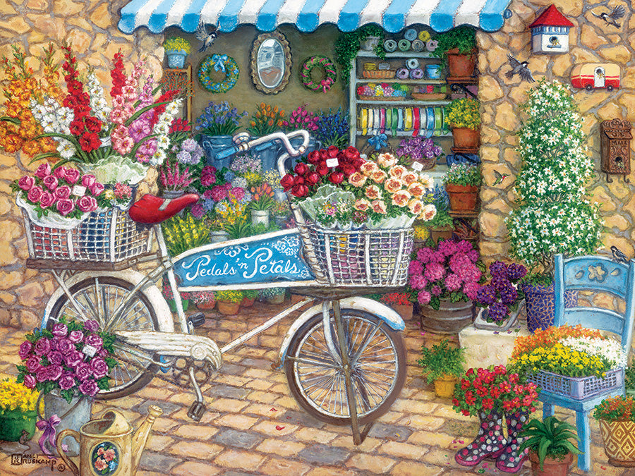 Cobble Hill Easy Handling - Pedals 'n' Petals - 275 Piece Puzzle