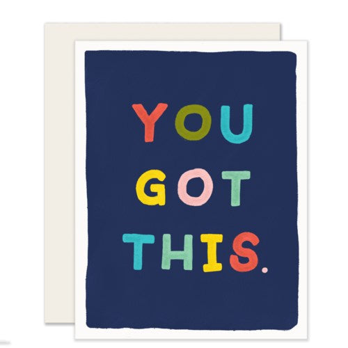 You Got This - Slightly cards