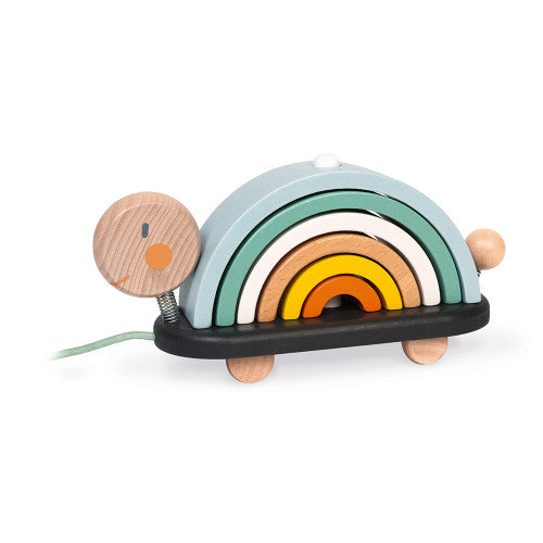 Janod Wooden Rainbow Turtle
