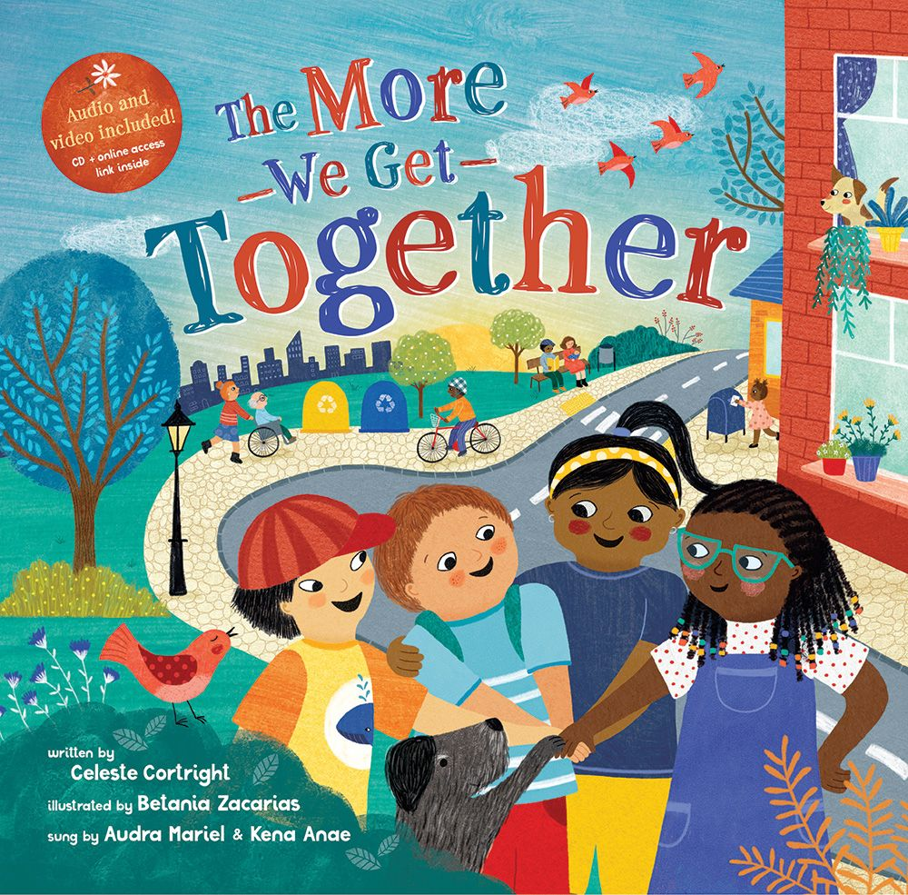 The More We Get Together (Paperback) - CD included