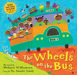 The Wheels on the Bus (Paperback with CD) *DISCOUNTED DUE TO DAMAGE*