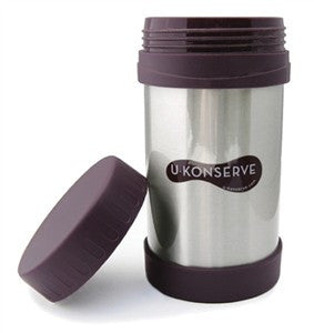 U Konserve Insulated Food Jar-Eggplant