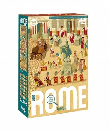 Go to Rome - 100 piece puzzle by Londji