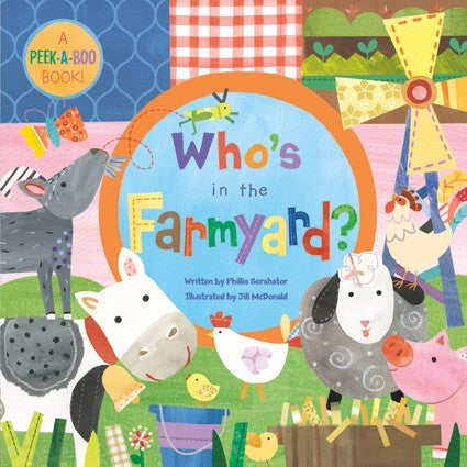 Who's in the Farmyard (Large Board Book)