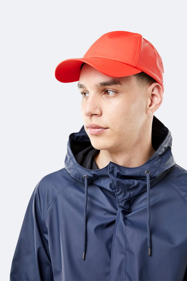 Rains Cap Red