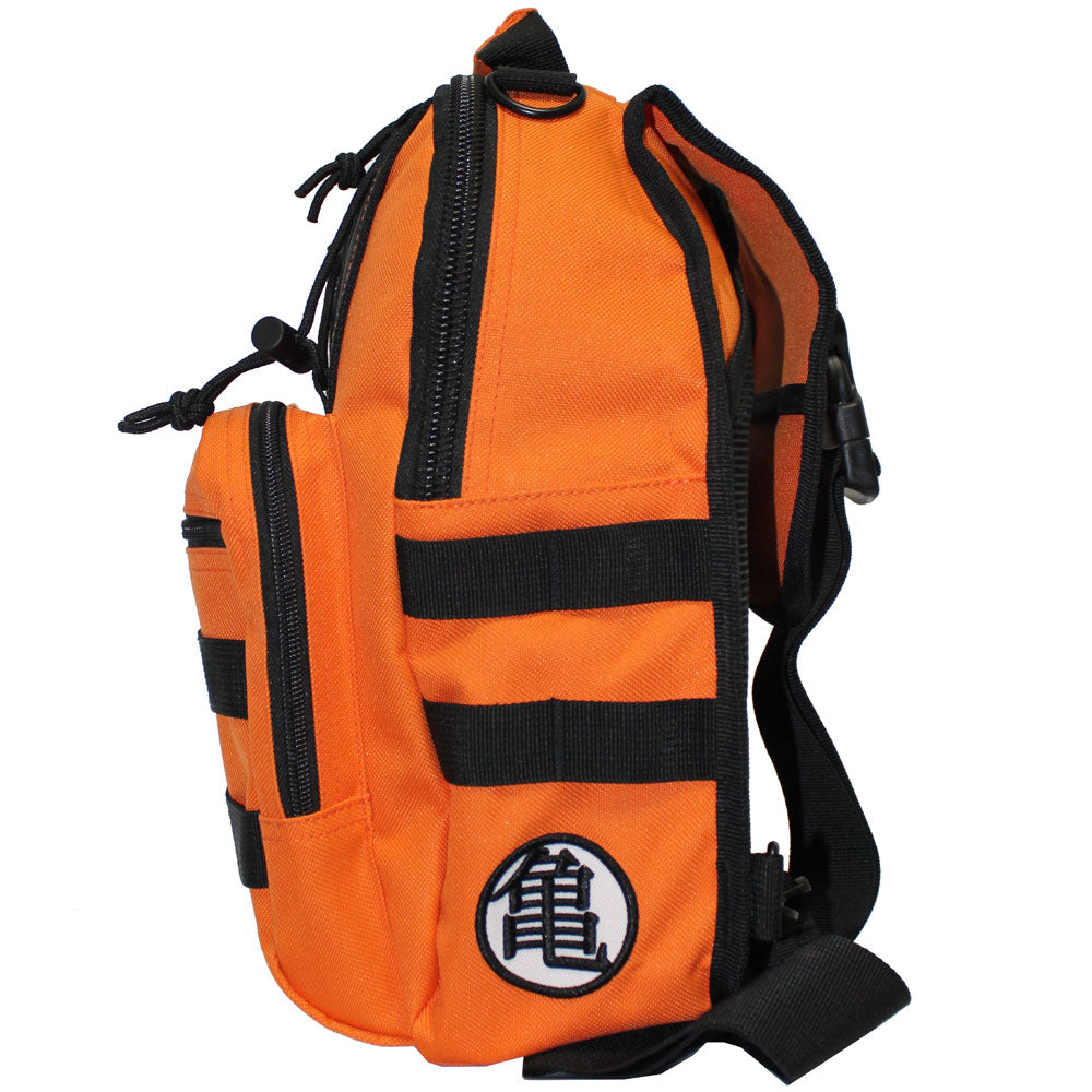 Dragon Ball Z Logo Mini Sling Backpack Orange