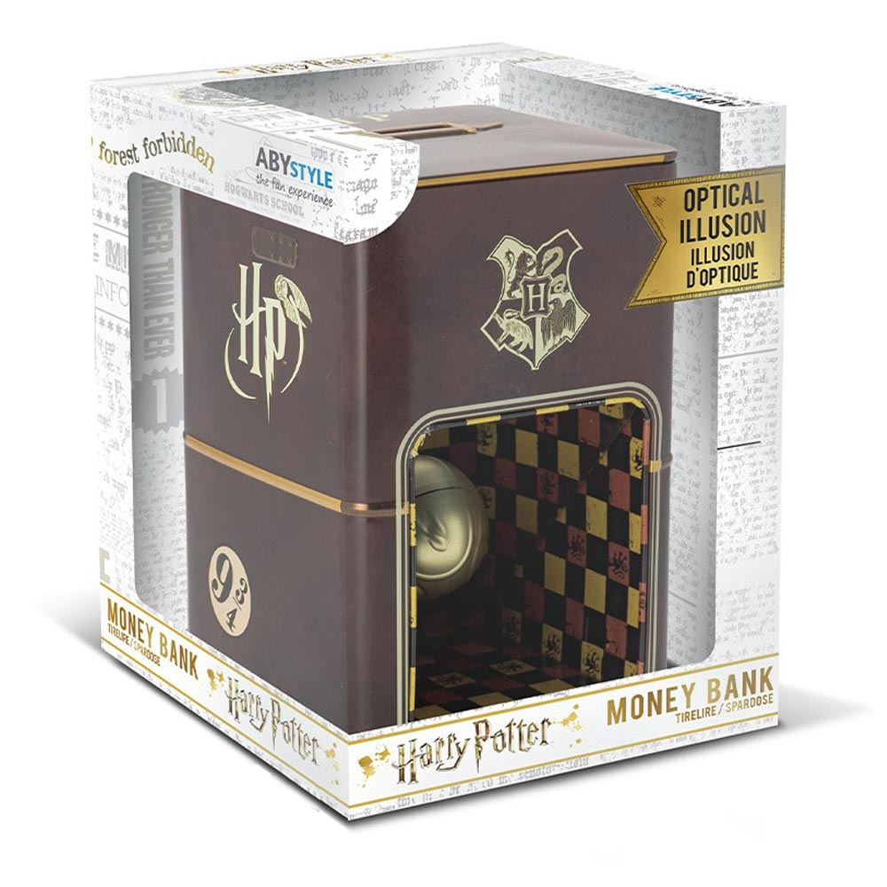 Harry Potter Floating Golden Snitch Money Bank