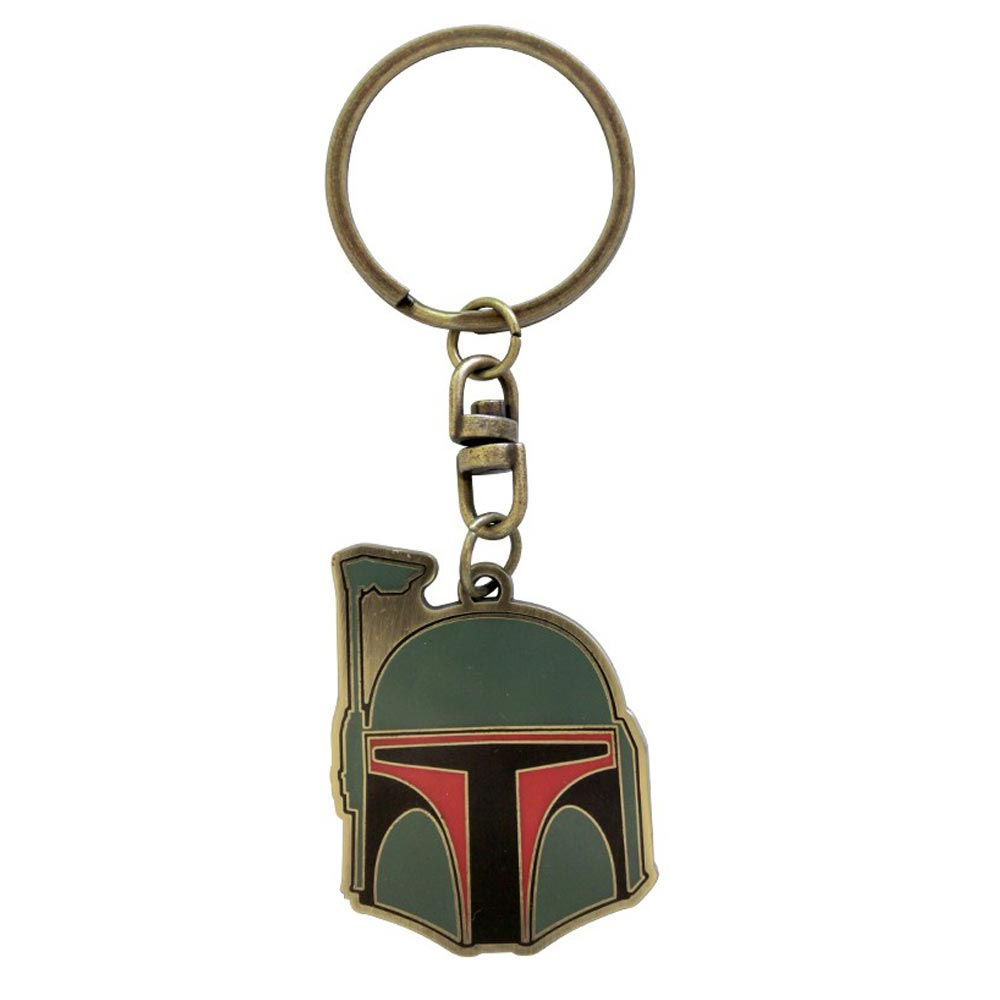 Star Wars Boba Fett Metal Keyring