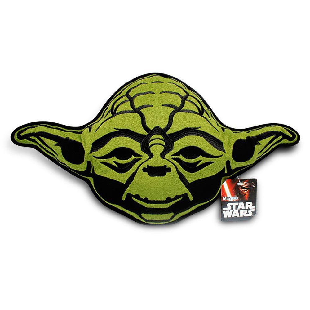 Star Wars Plush Yoda Head Cushion 55cm