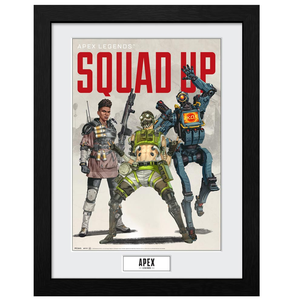 Apex Legends Squad Up Collector Print