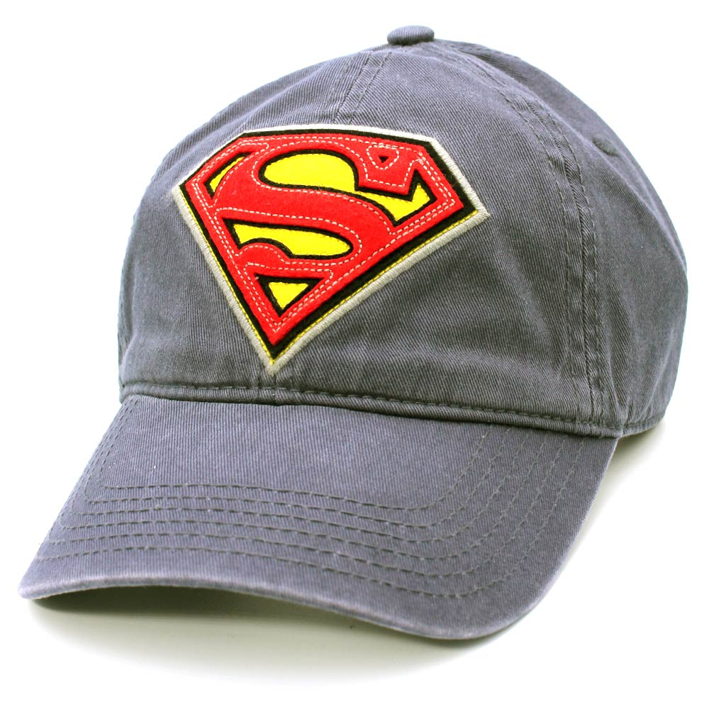 Superman Vintage Logo Dad Cap
