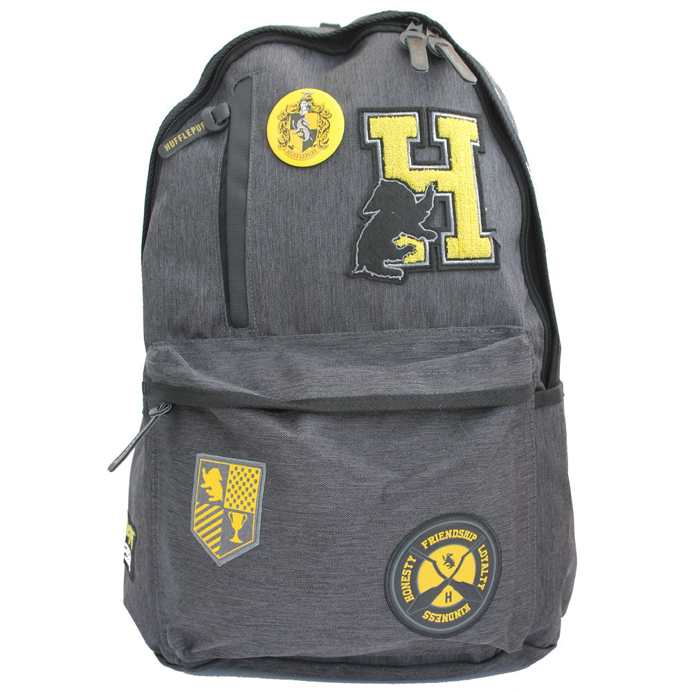 Harry Potter Hufflepuff Omni Badge Patch Tech Laptop Backpack