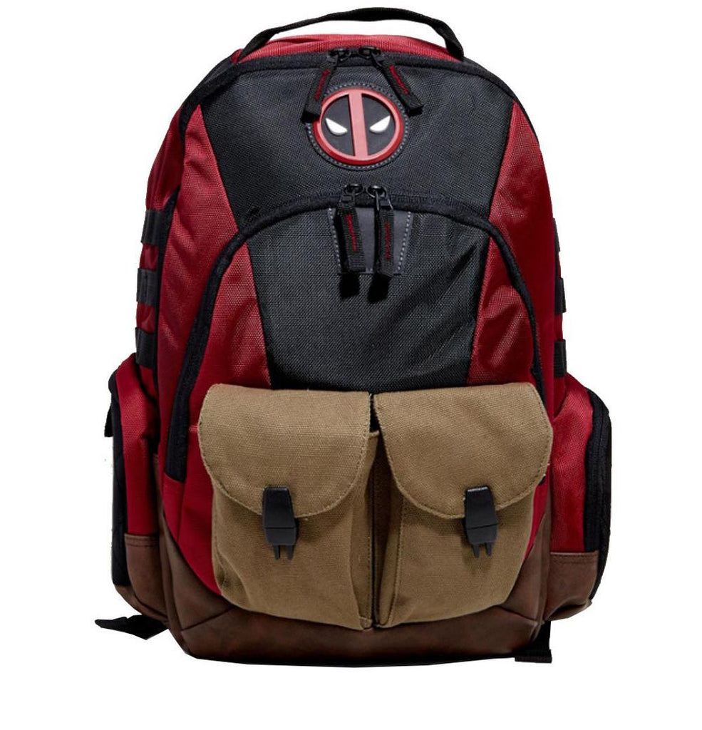 Deadpool Built Up Combat Ready Backpack