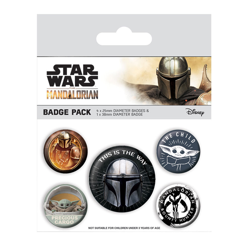 Star Wars The Mandalorian This Is The Way Badge Pack