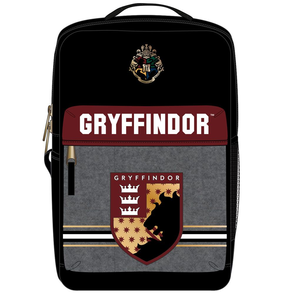 Harry Potter Gryffindor Heathered Pocket Premium Backpack
