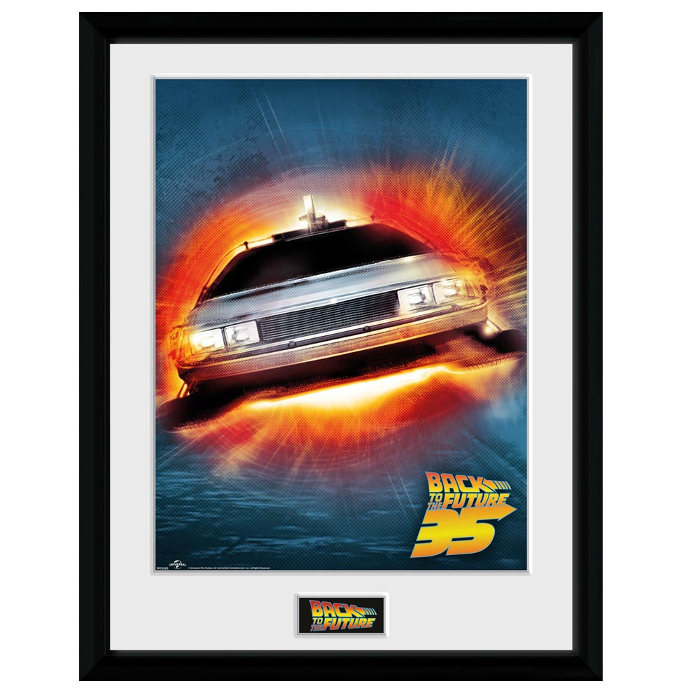 Back To The Future 35th Delorean Collector Print