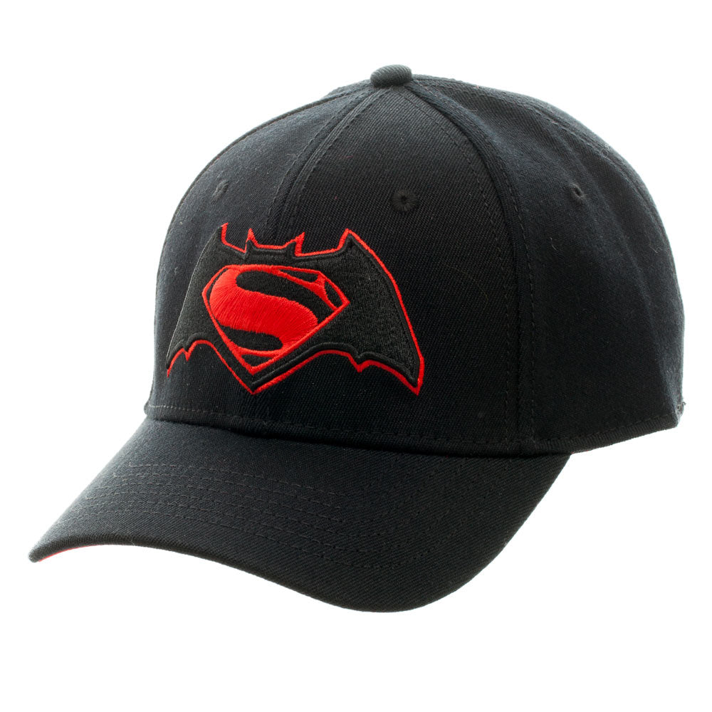 Batman vs Superman Dawn Of Justice Logo Flexfit Cap