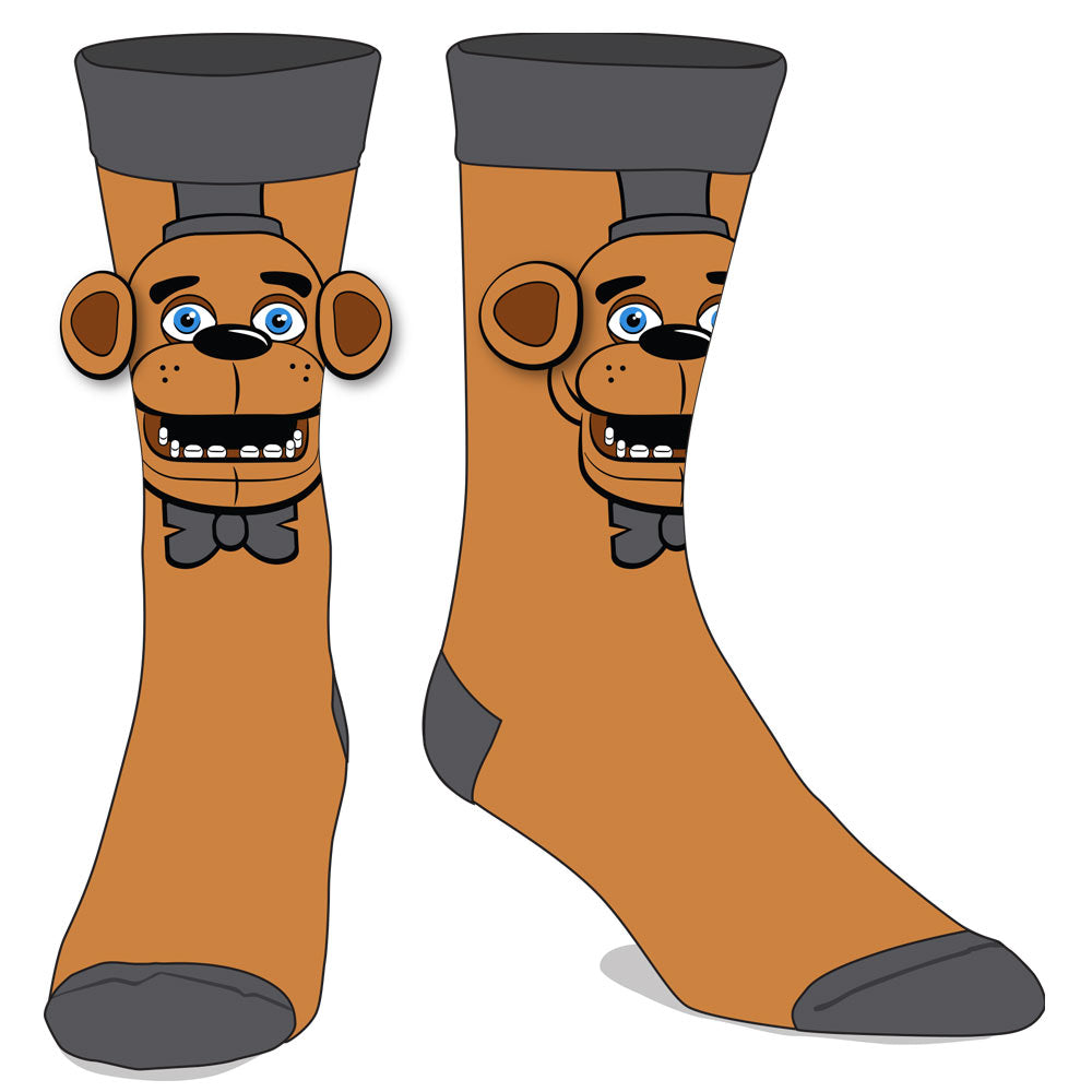 Five Nights At Freddy's Big Face Socks