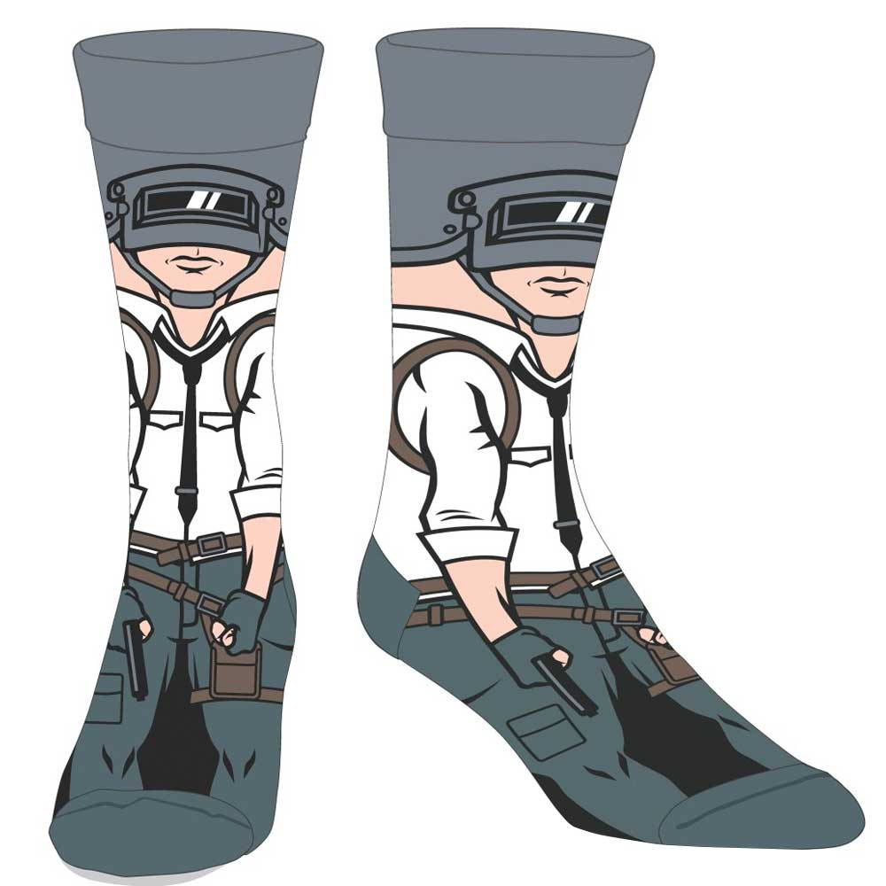 PUBG Welder Man Crew Socks