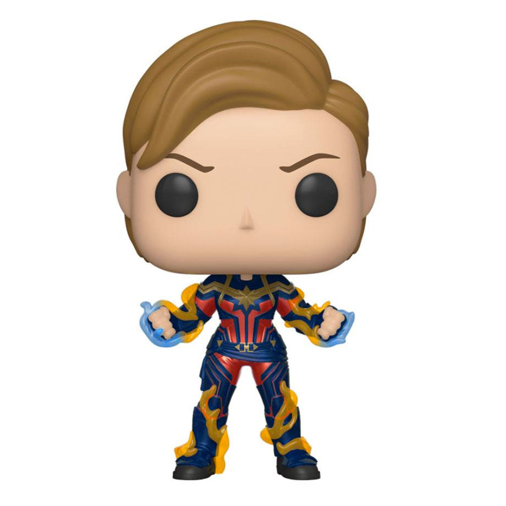 Avengers Endgame POP! Movies Vinyl Figure Captain Marvel New Hair 9 cm