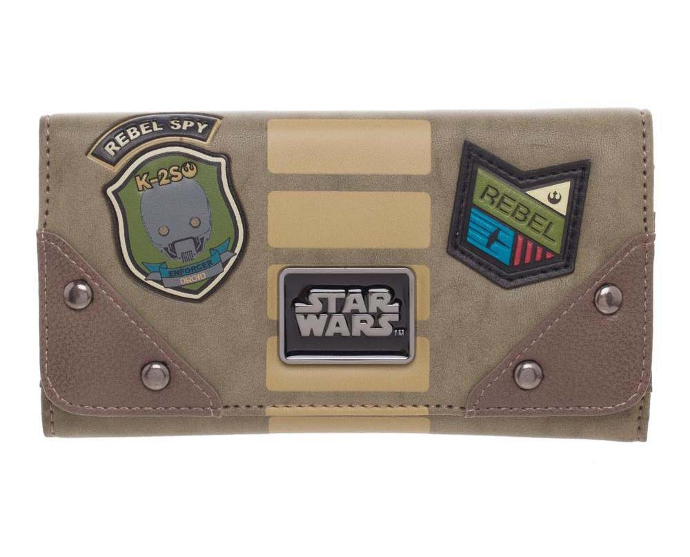 Star Wars Rebel Spy Patch Zip Purse