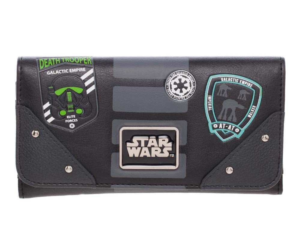 Star Wars Imperial Patches Zip Purse