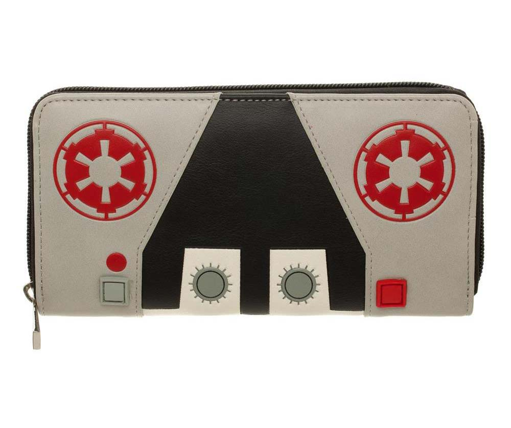 Star Wars Hoth ATAT Driver Inspired Zip Purse