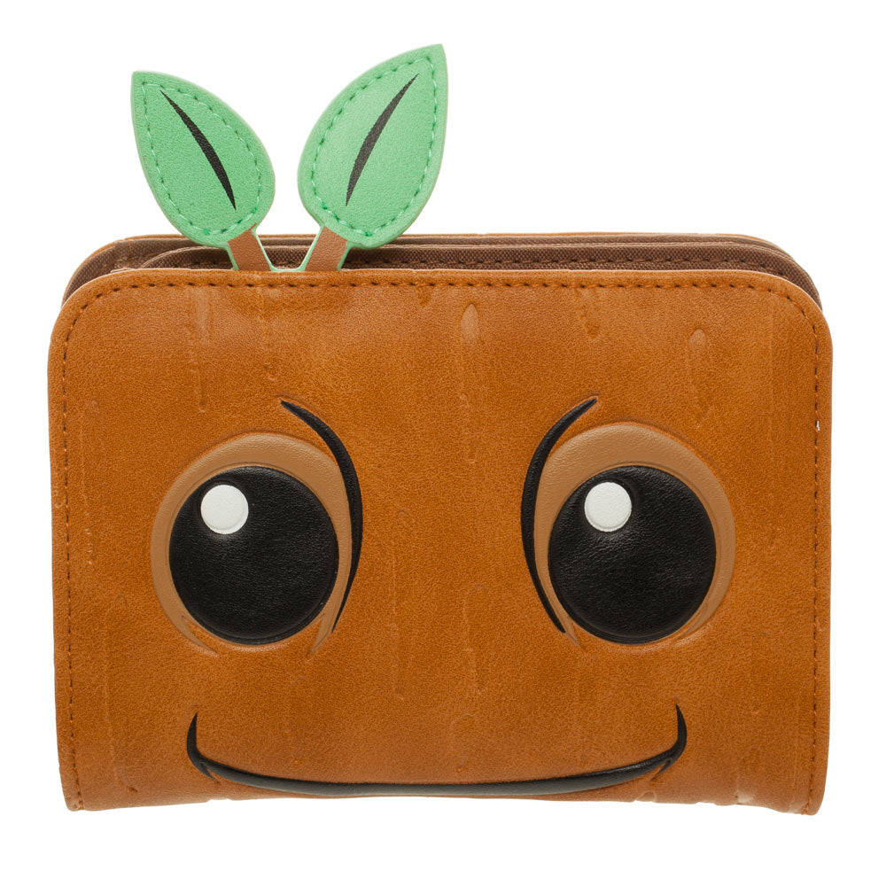 Guardians Of The Galaxy Baby Groot Bifold Purse