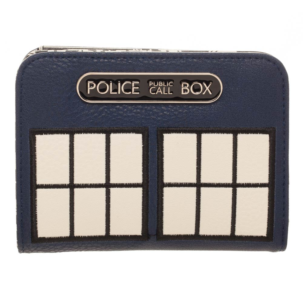 Doctor Who Tardis Police Box Deluxe BiFold Purse