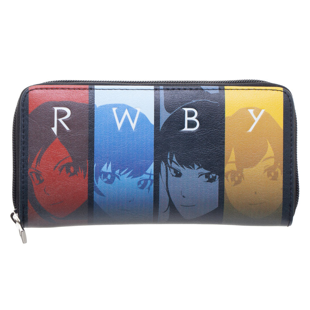 RWBY Anime Ladies Zip Around Purse