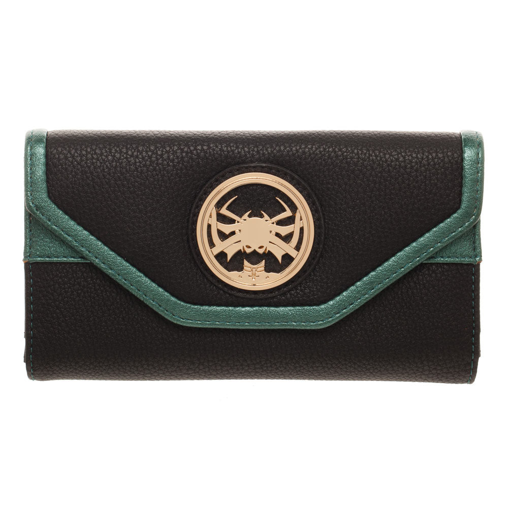 Thor Ragnarok Hela Marvel Ladies Flap Purse